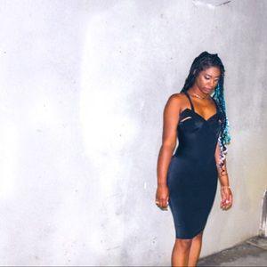 Vintage bodycon dress